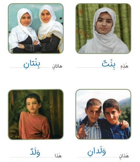 جواب صفحه 8 عربی هفتم