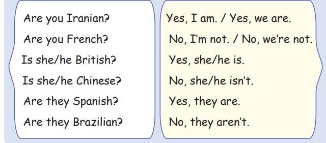 جواب صفحه 13 زبان هشتم