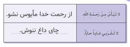 ترجمه صفحه 53 عربی نهم