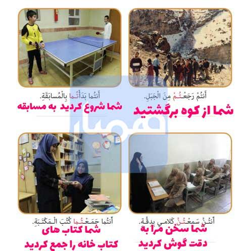 معنی صفحه 68 عربی هفتم