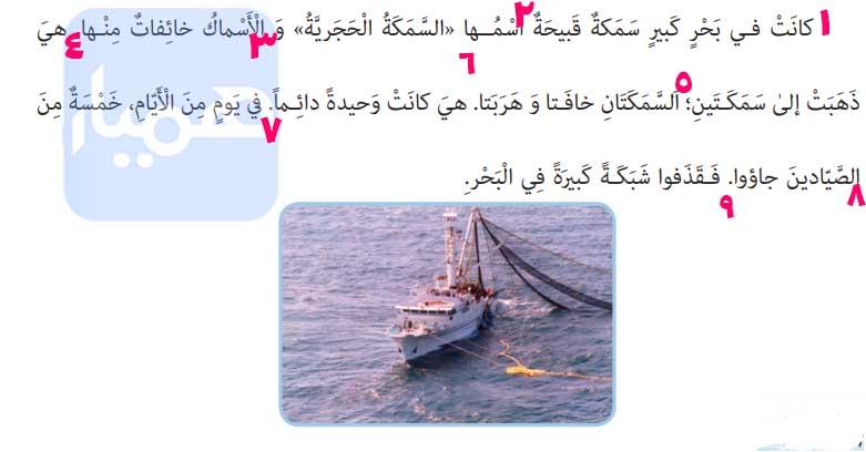معنی کلمات درس 10 عربی هفتم