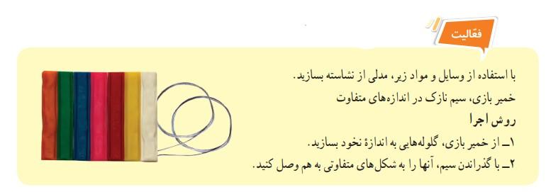 جوابفعالیت صفحه 102 علوم هفتم