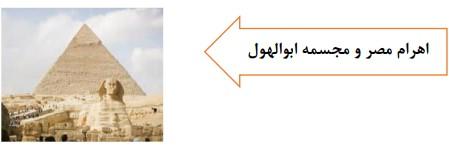 اهرام مصر و مجسمه ابول هول