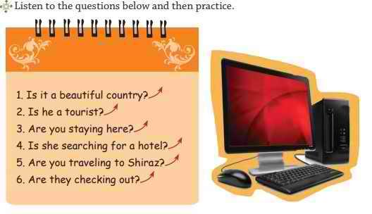 معنی صفحه 34 درس دوم زبان نهم
