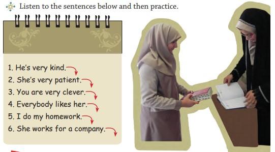 صفحه ۲۰ انگلیسی نهم درس اول