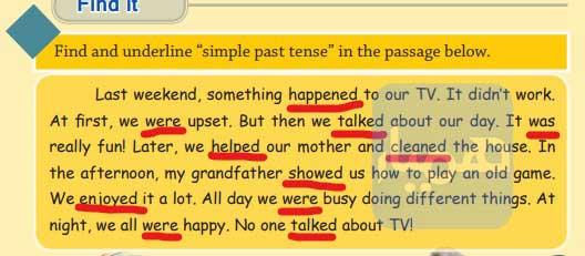 جواب تمرین درس 5 انگلیسی نهم صفحه 89